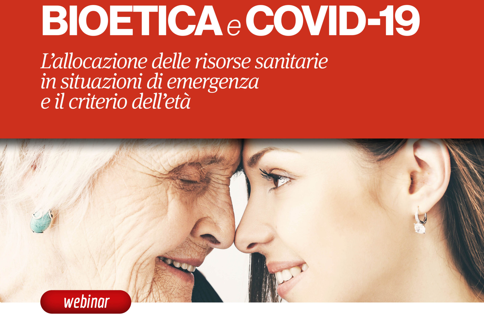 Bioetica e COVID - webinar Aging Project UPO
